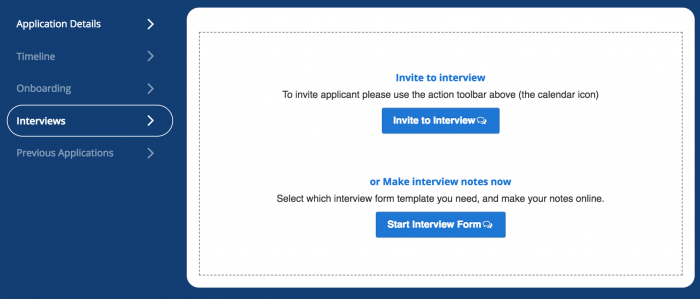 interview notes talentfunl revolutionary applicant tracking system